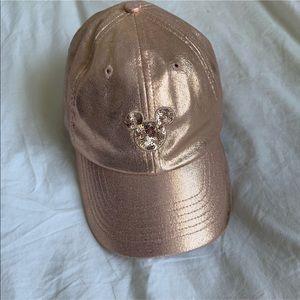 ✨Disney Rose Gold Baseball Cap Hat